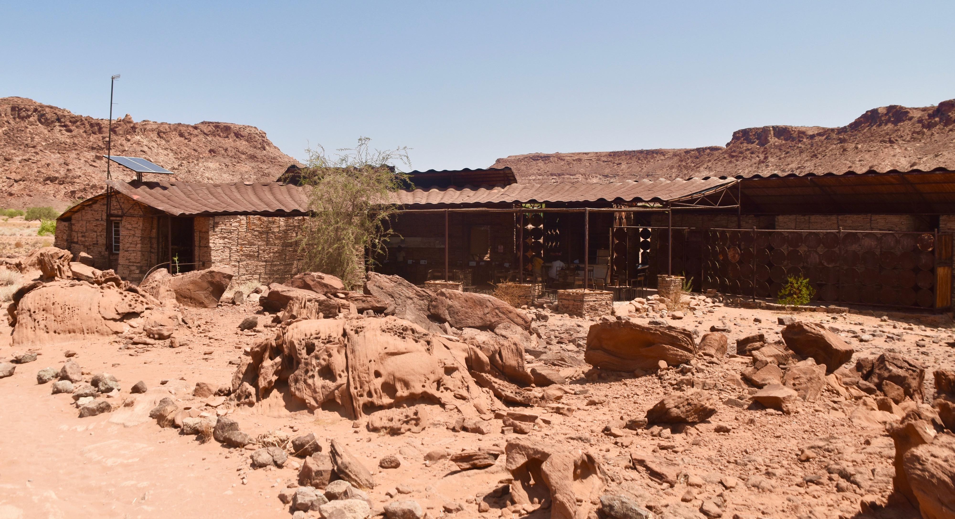 Visitor's Centre, Twyfelfontein