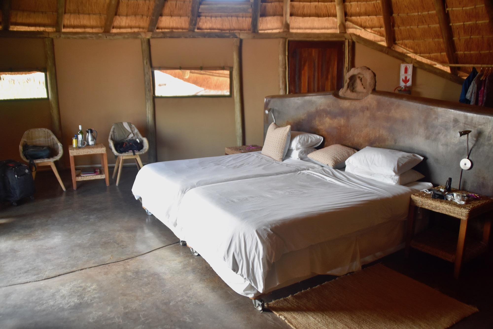 Interior of Cabin 11, Doro Nawas