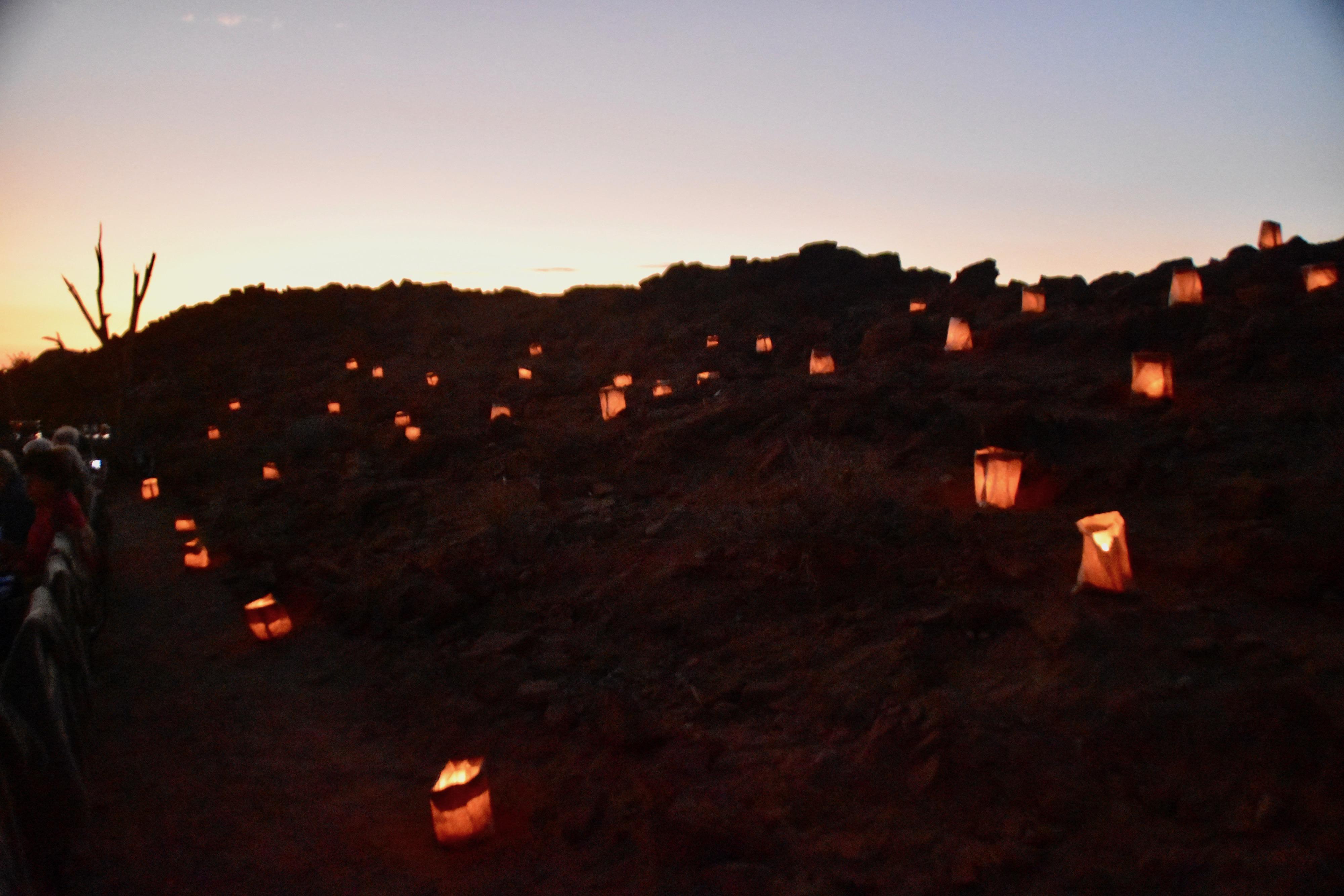 Bush Dinner Lanterns, Doro Nawas, Damaraland