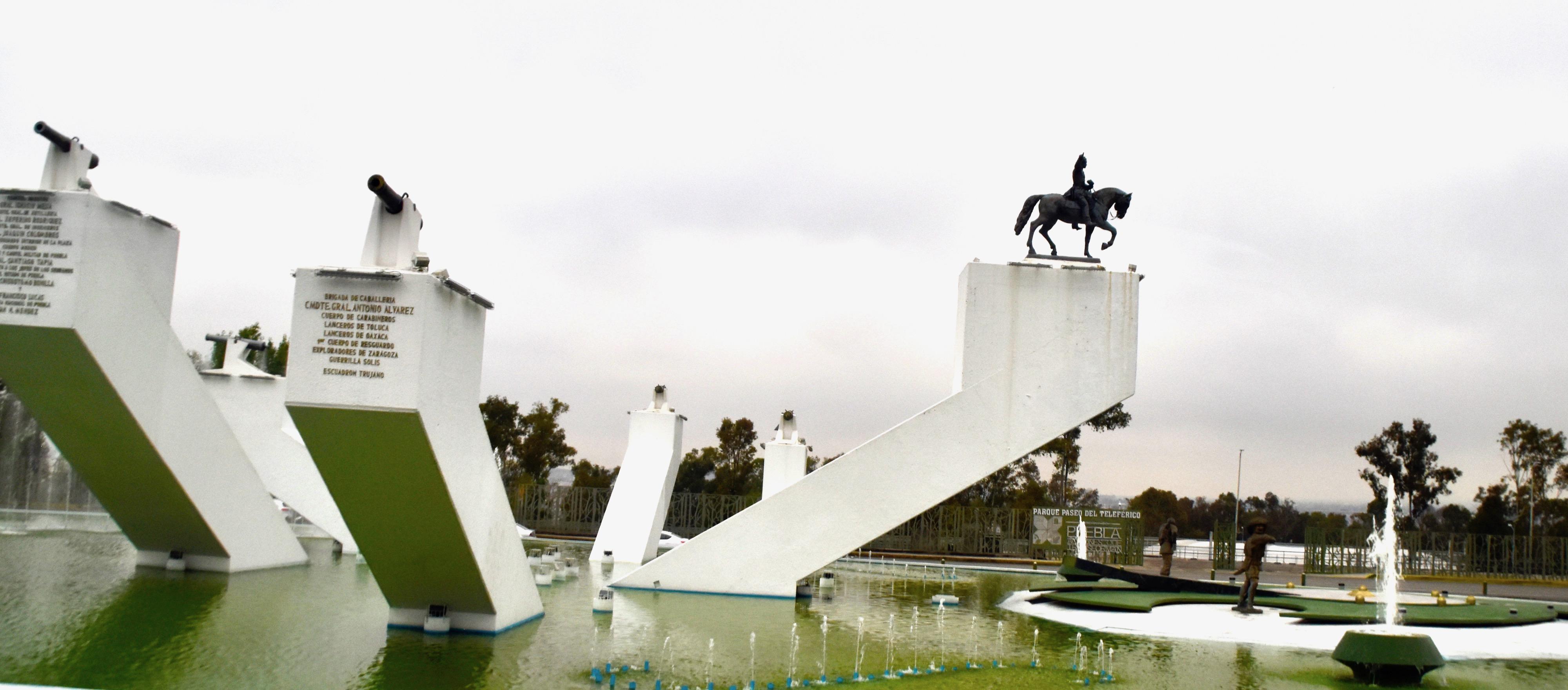 Cinco de Mayo Monument, Puebla