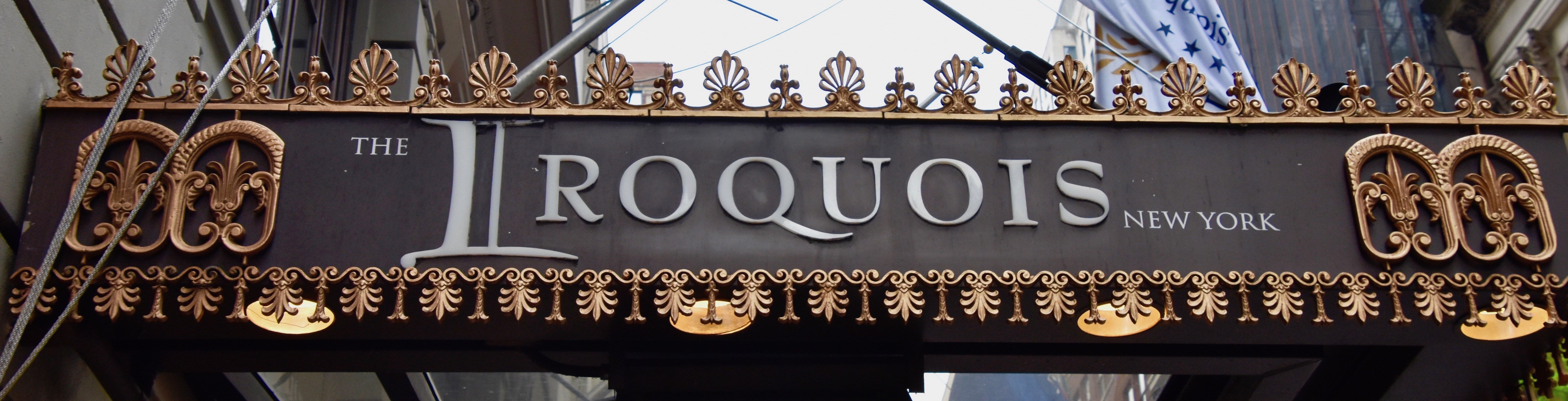 The Iroquois Location Is Everything In Nyc The Maritime Explorer