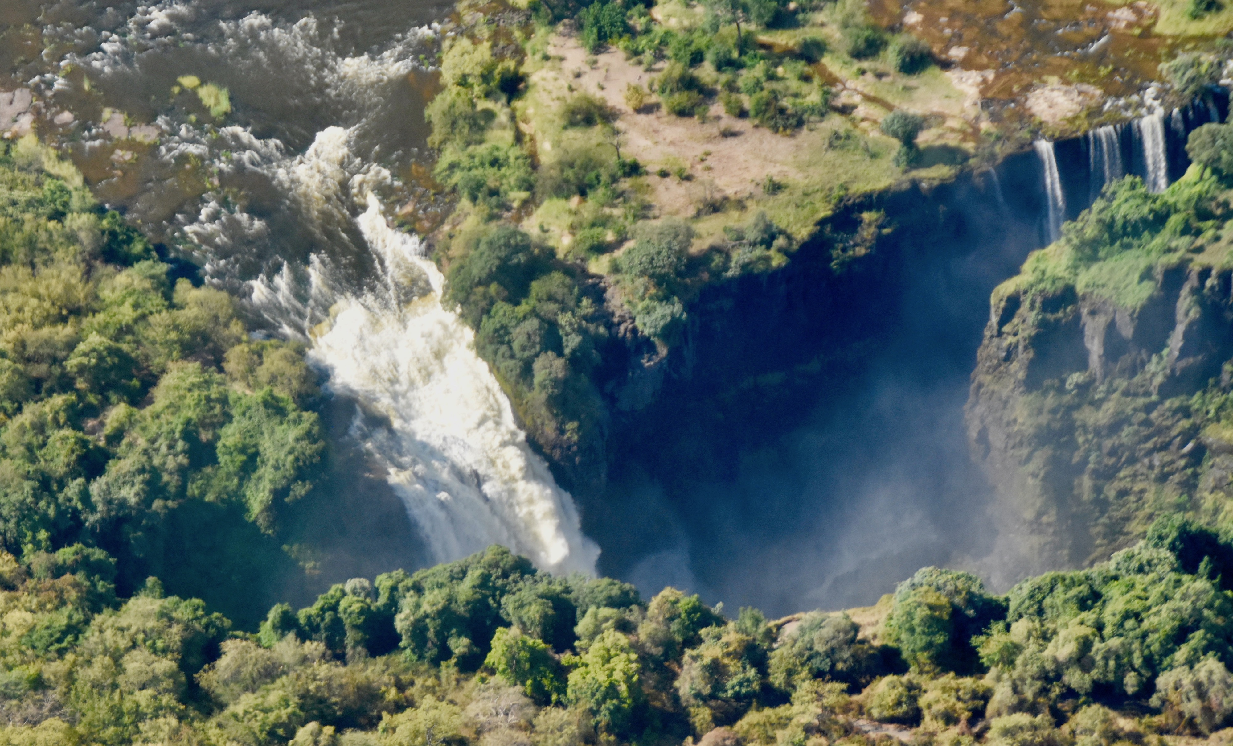 Aerial View of Devil's Cataract