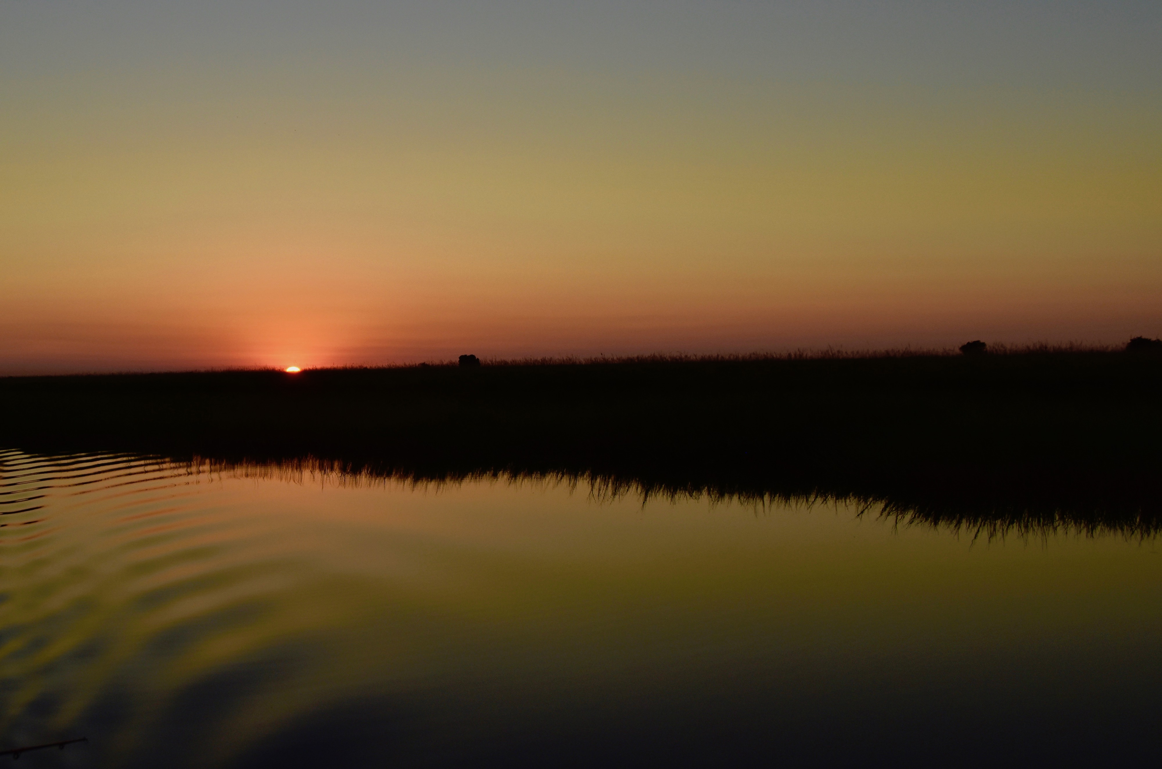 Sunrise on the Chobe River