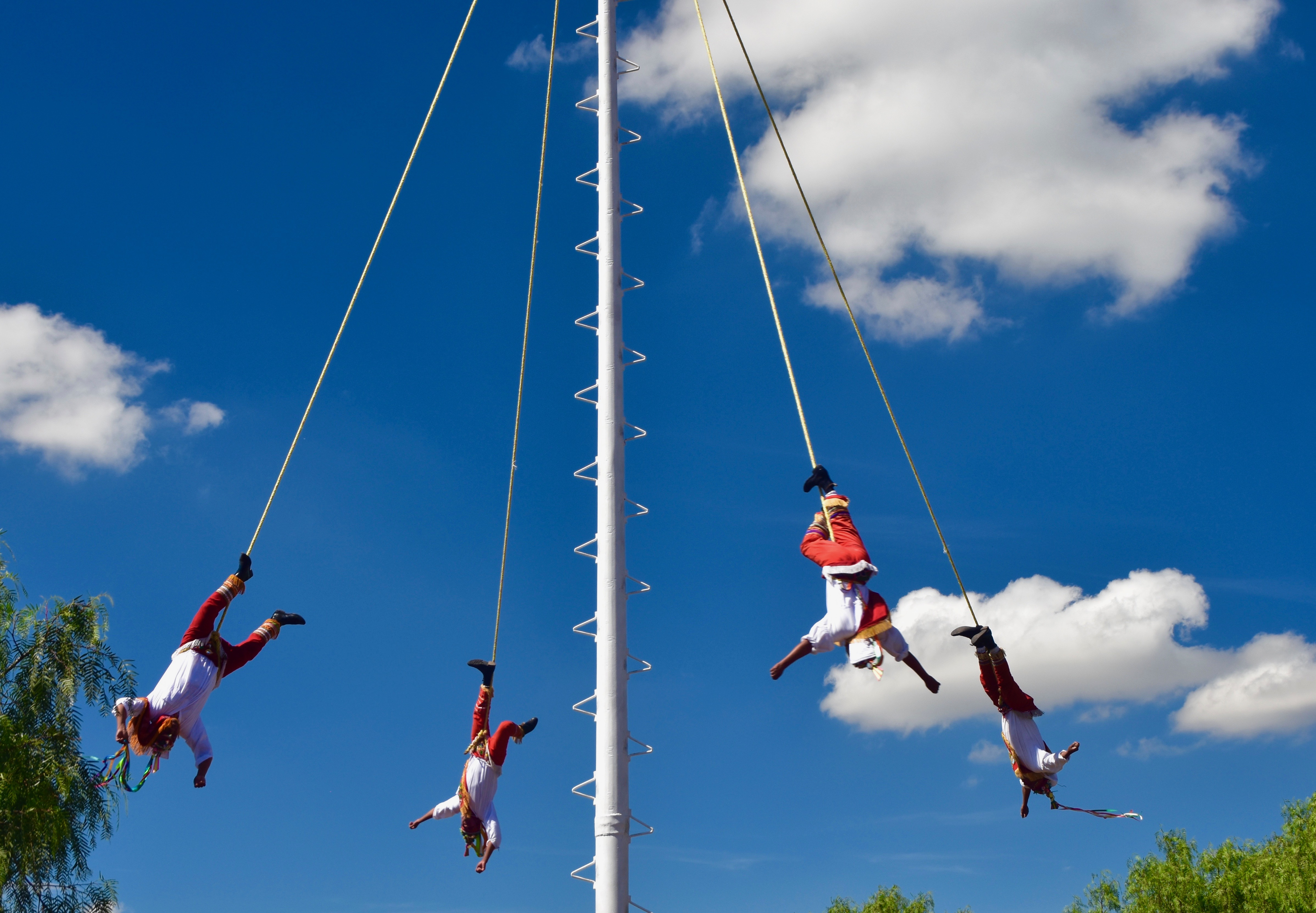 Los Voladores at Teotihuacan