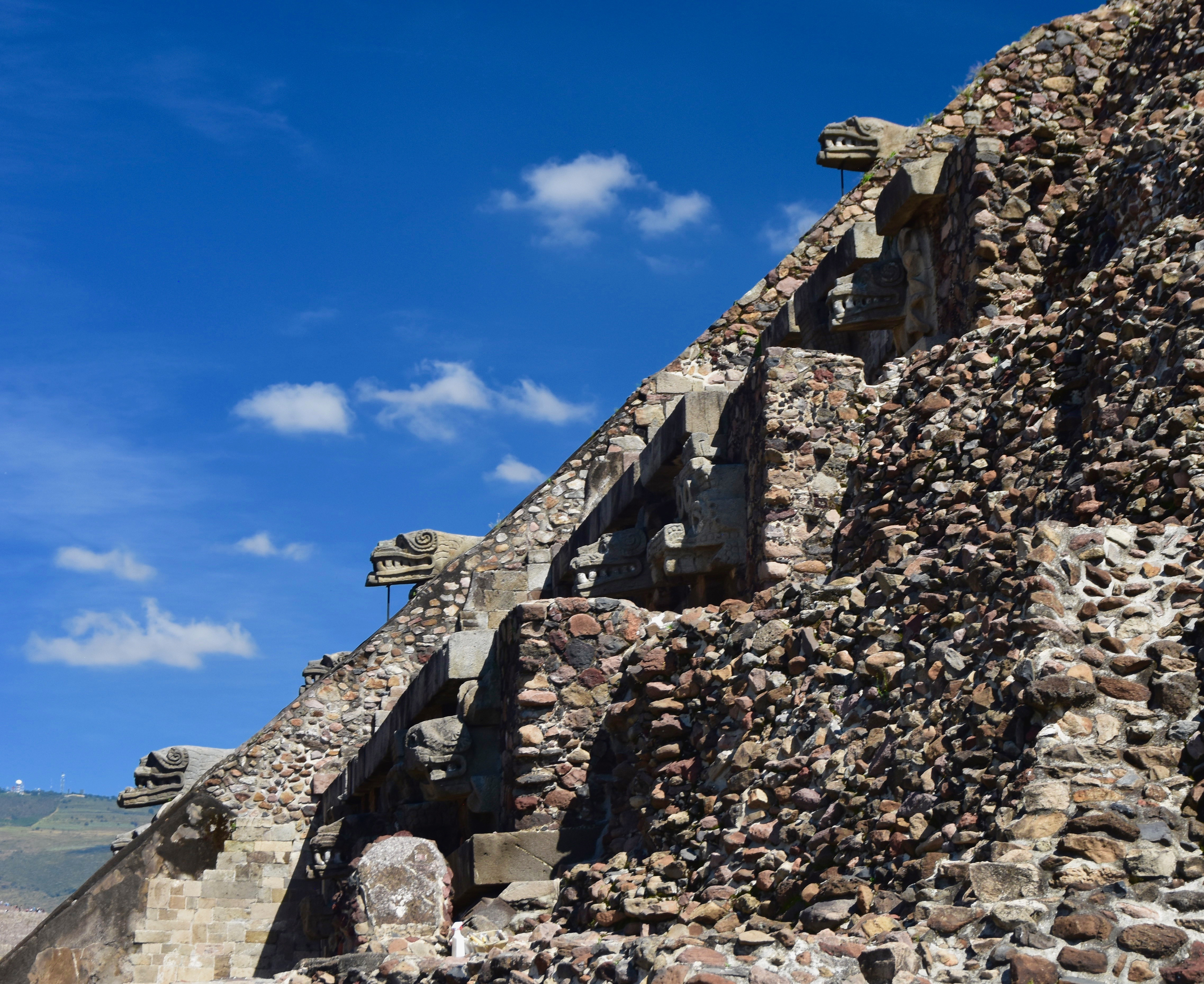 Feathered Serpent Heads, Teotihuacan