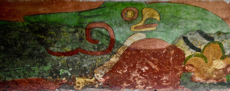 Parakeet Mural, Teotihuacan