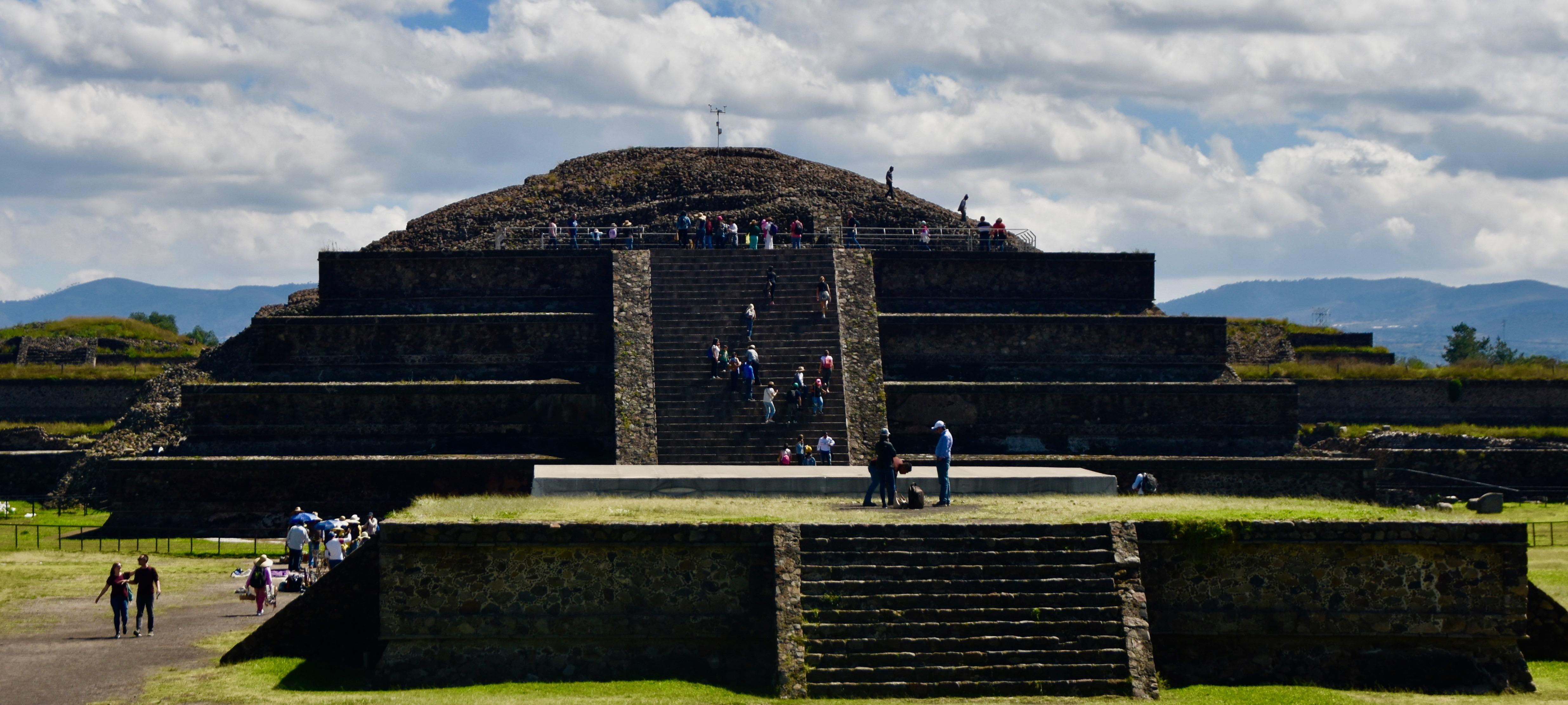 Pyramid of Queztlcoatl, Teotihuacan