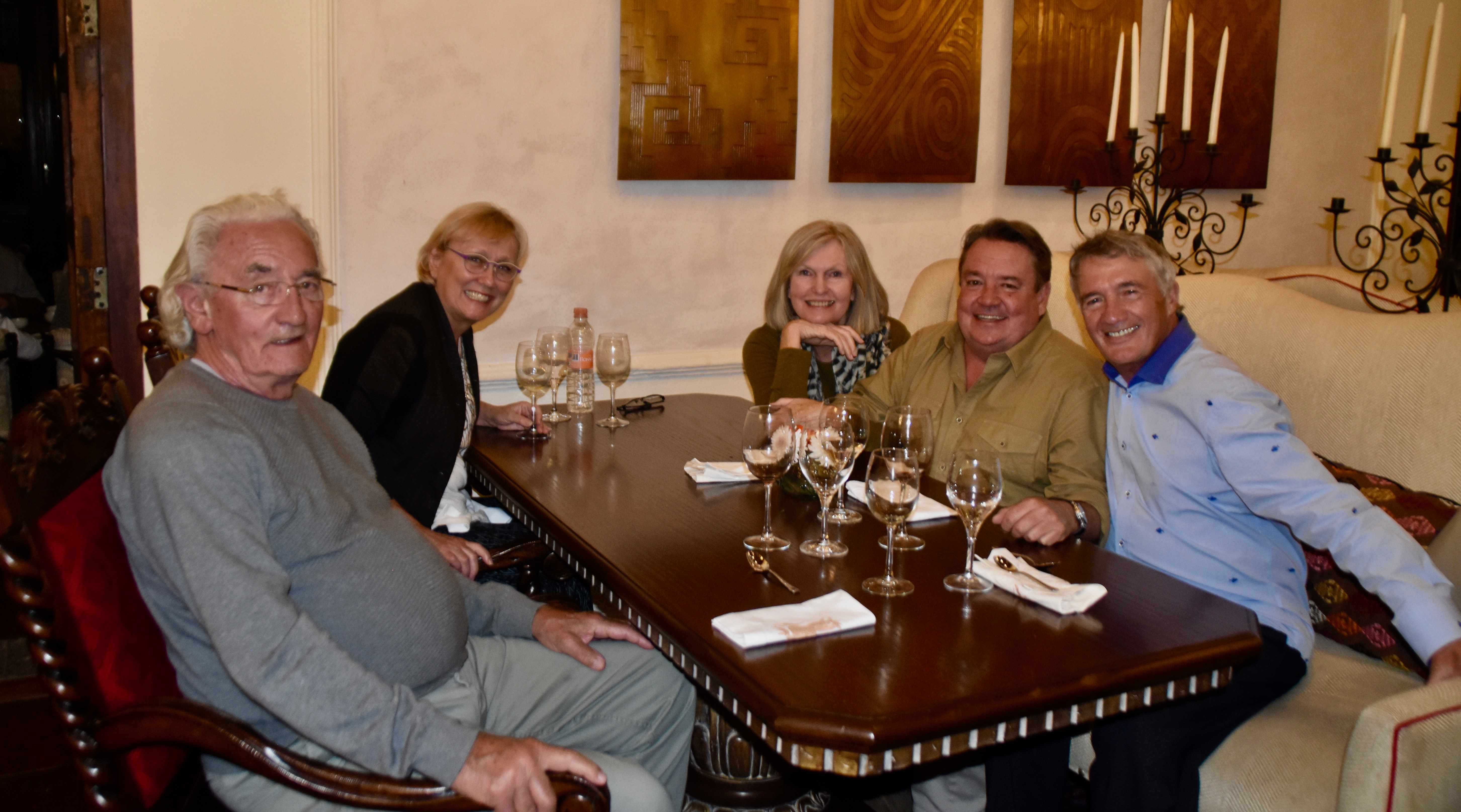 Dinner at San Miguel de Allende
