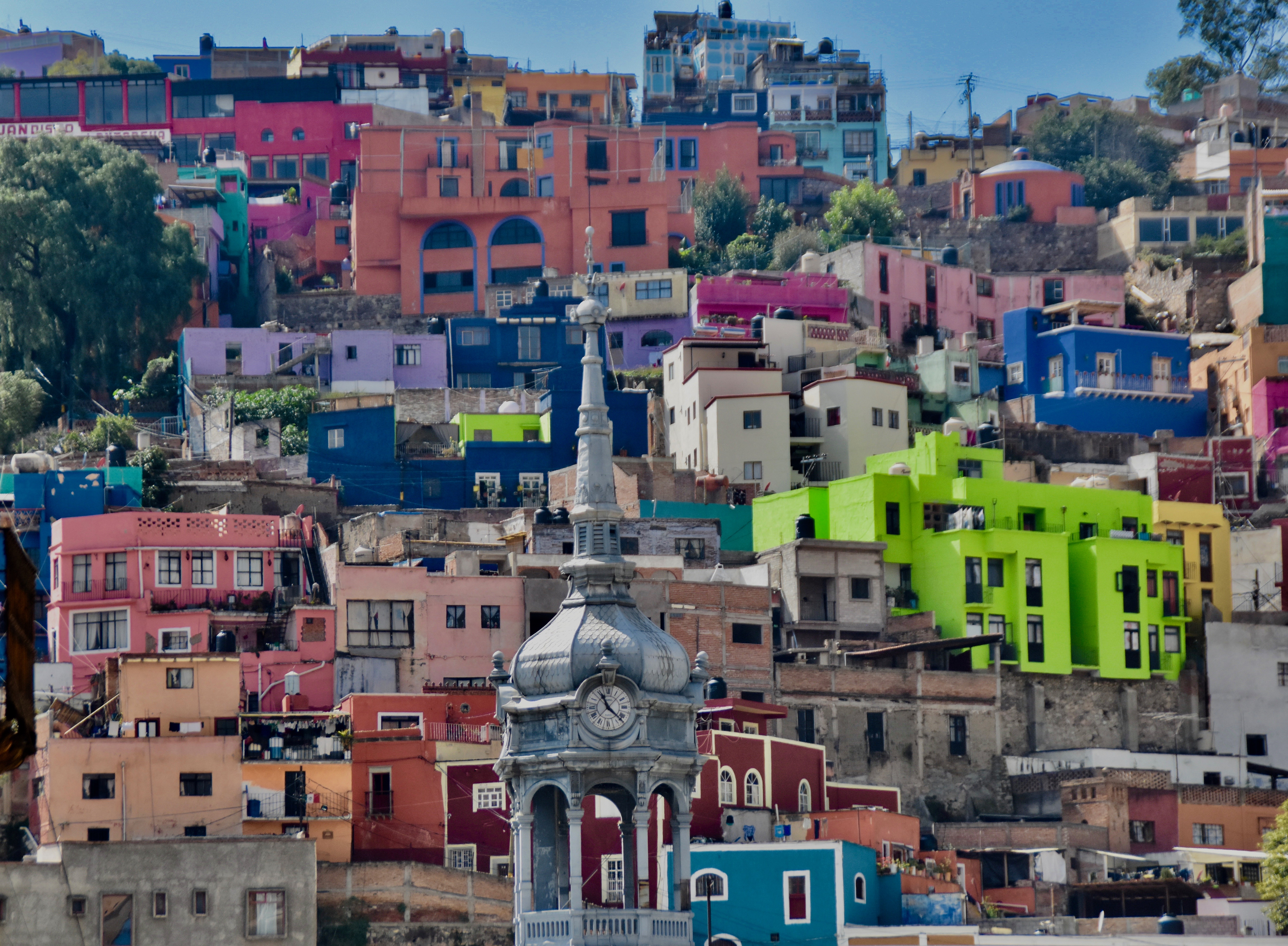 Guanajuato Houses