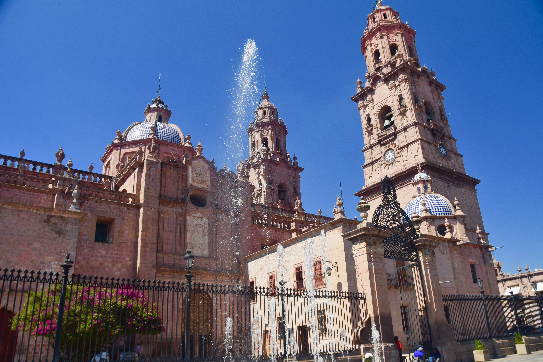 Morelia Cathedral, Michoacan