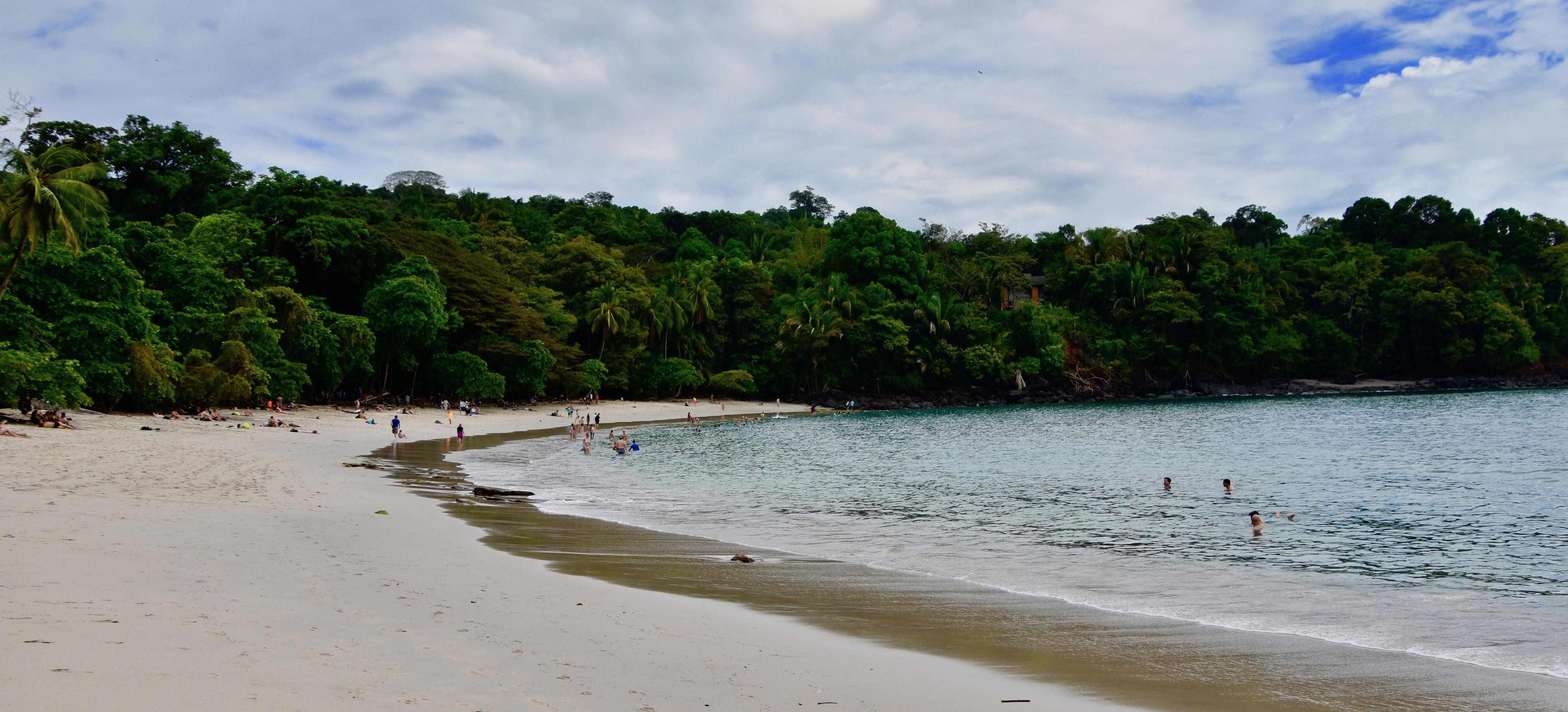 The Manuel Antonio Beach