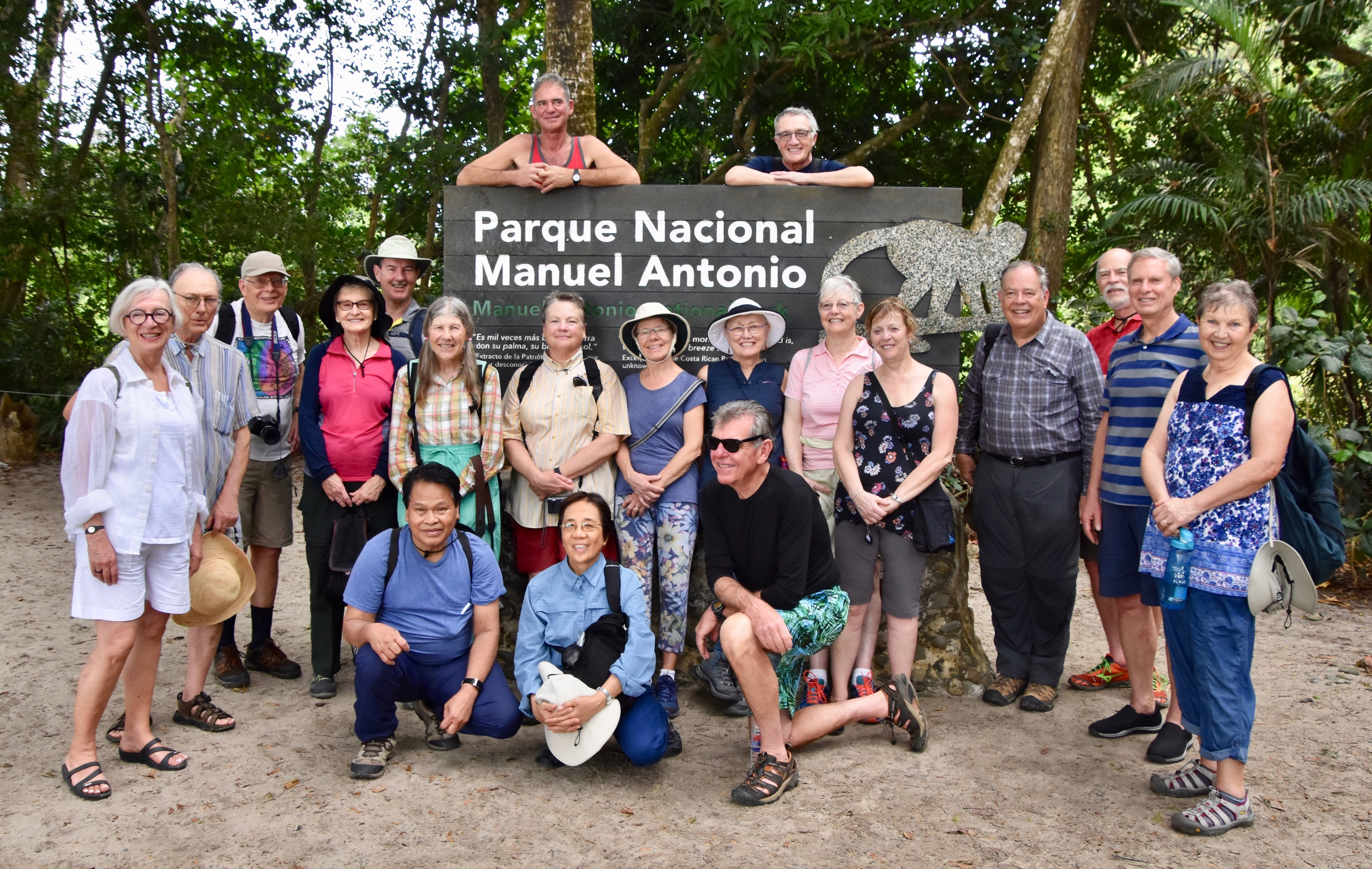 Group Shot in Manuel Antonio