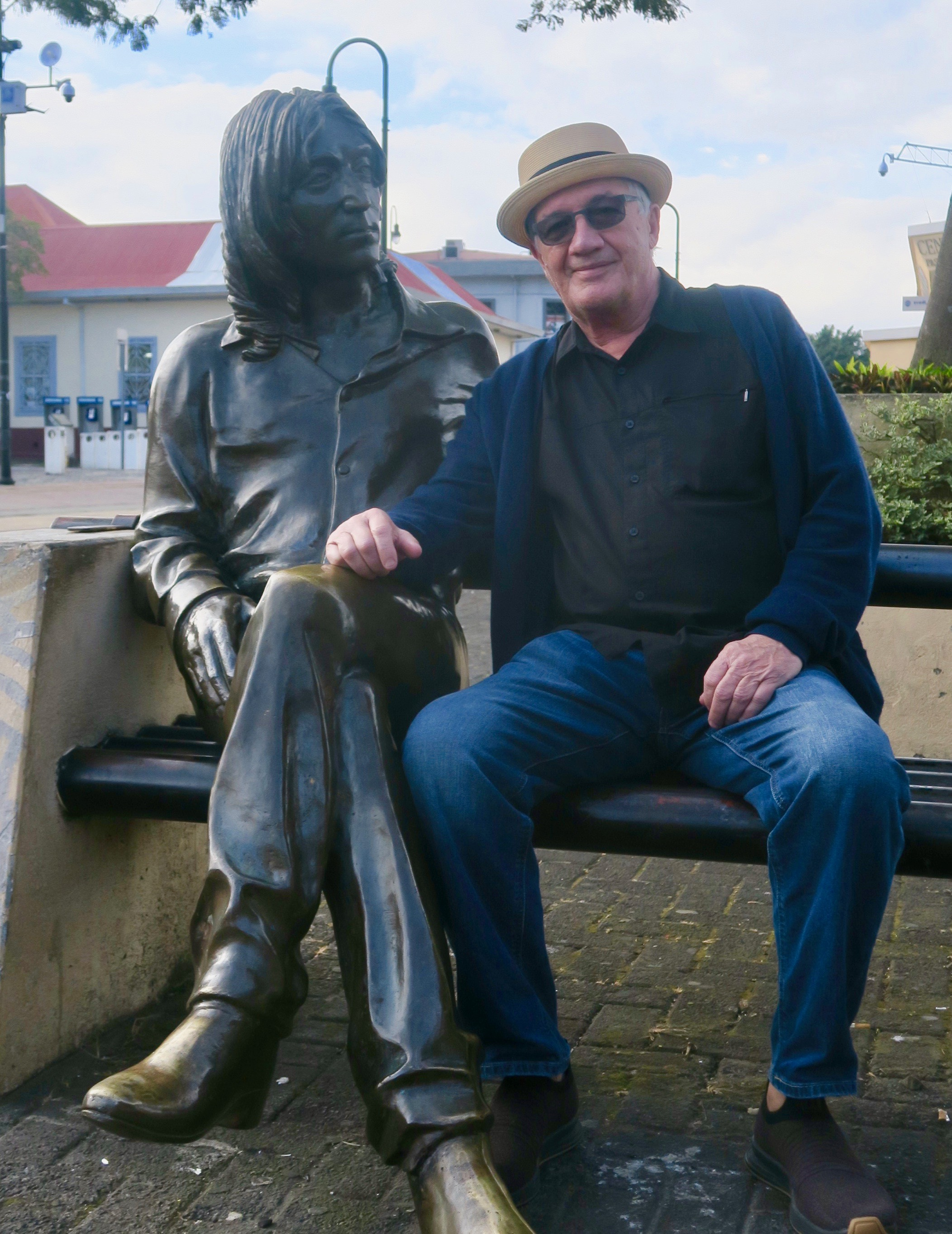 With John Lennon in San Jose