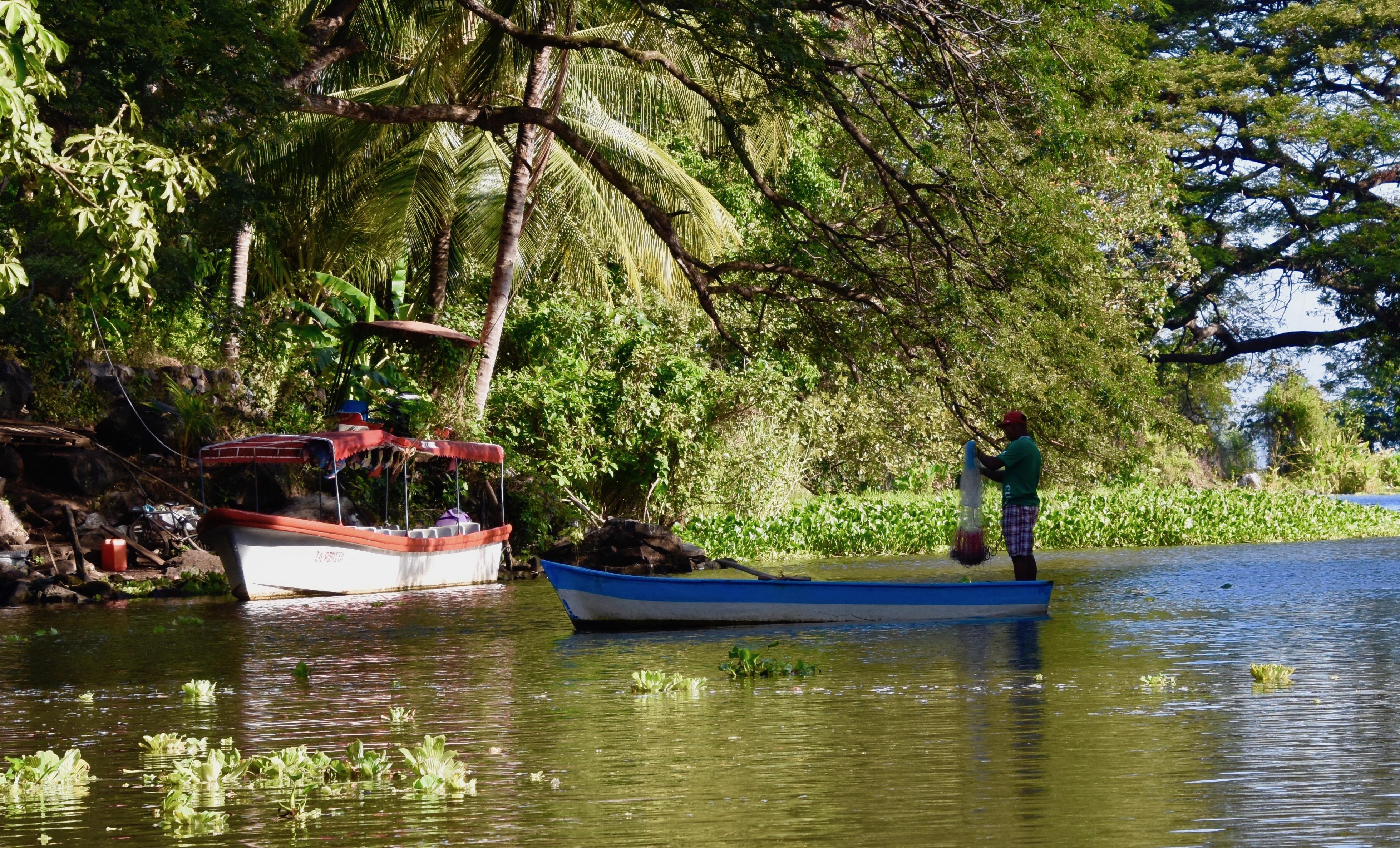 Tilapia Fishermen on Los Isletas