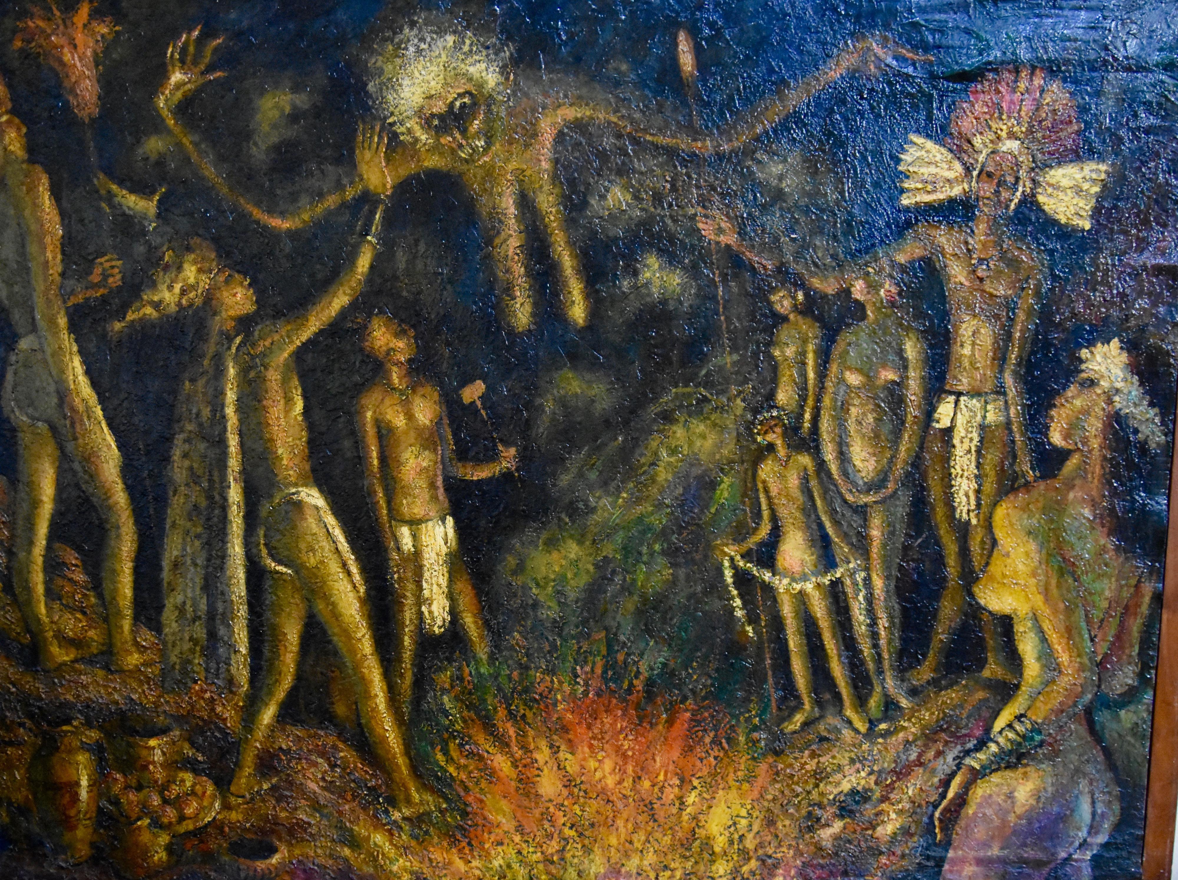 Human Sacrifice, Masaya