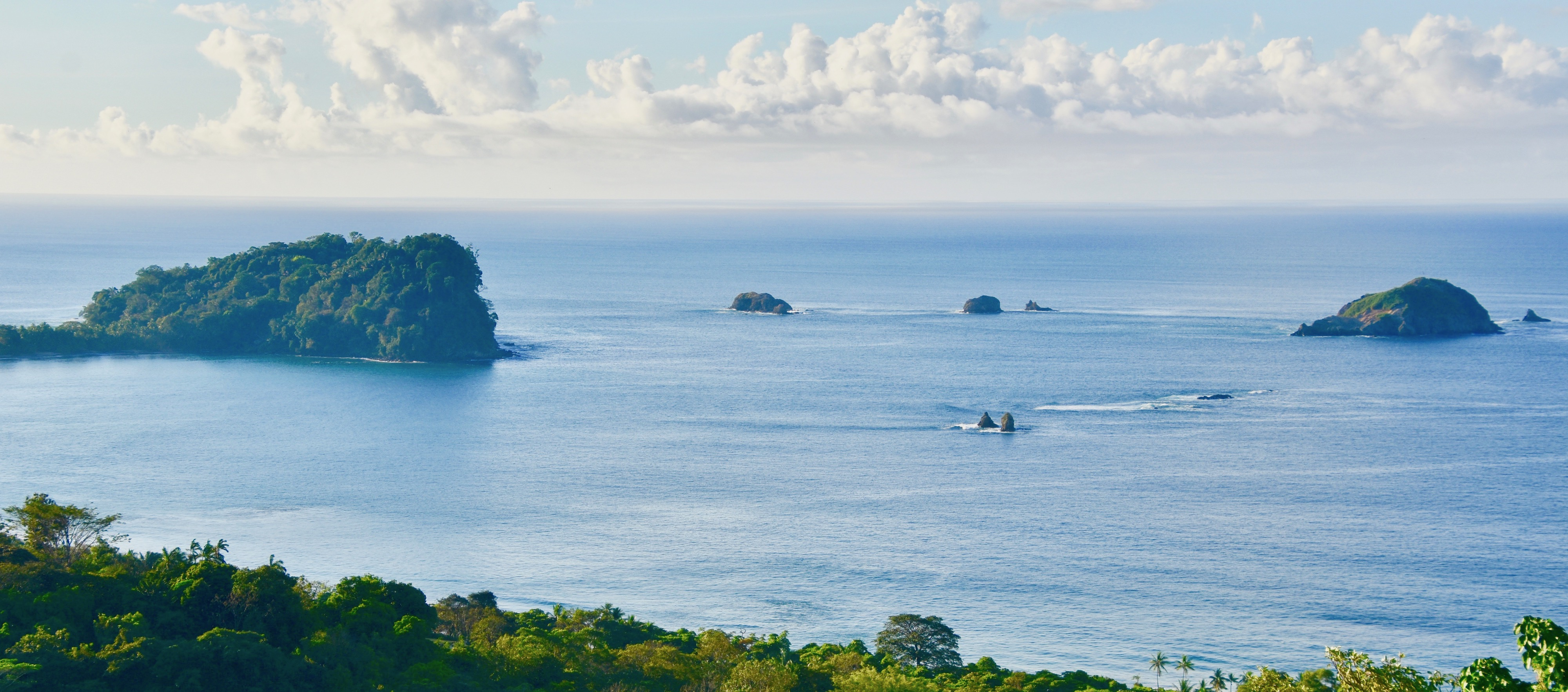 View of Manuel Antonio from Le Mariposa