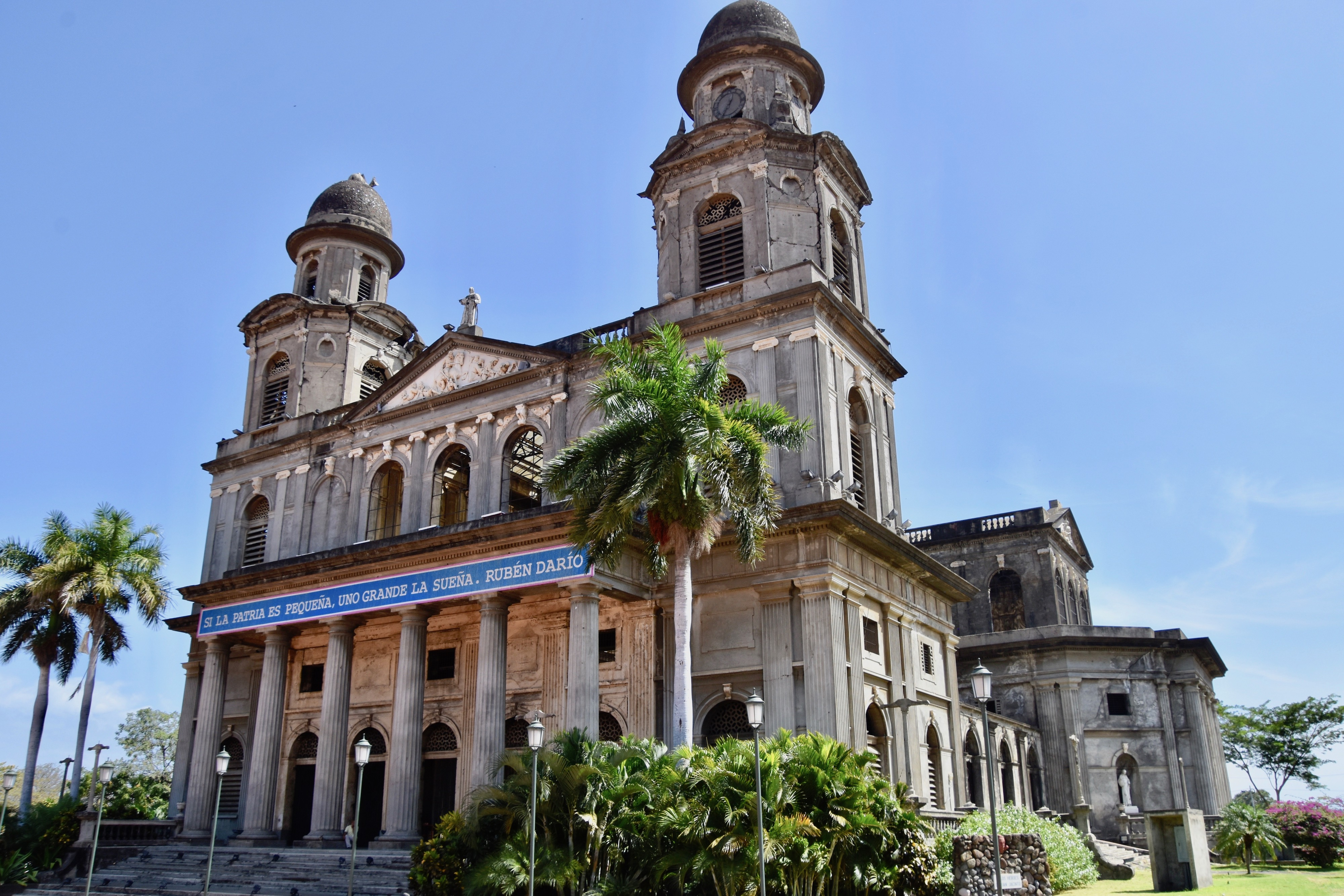 Old Cathedral, Managua