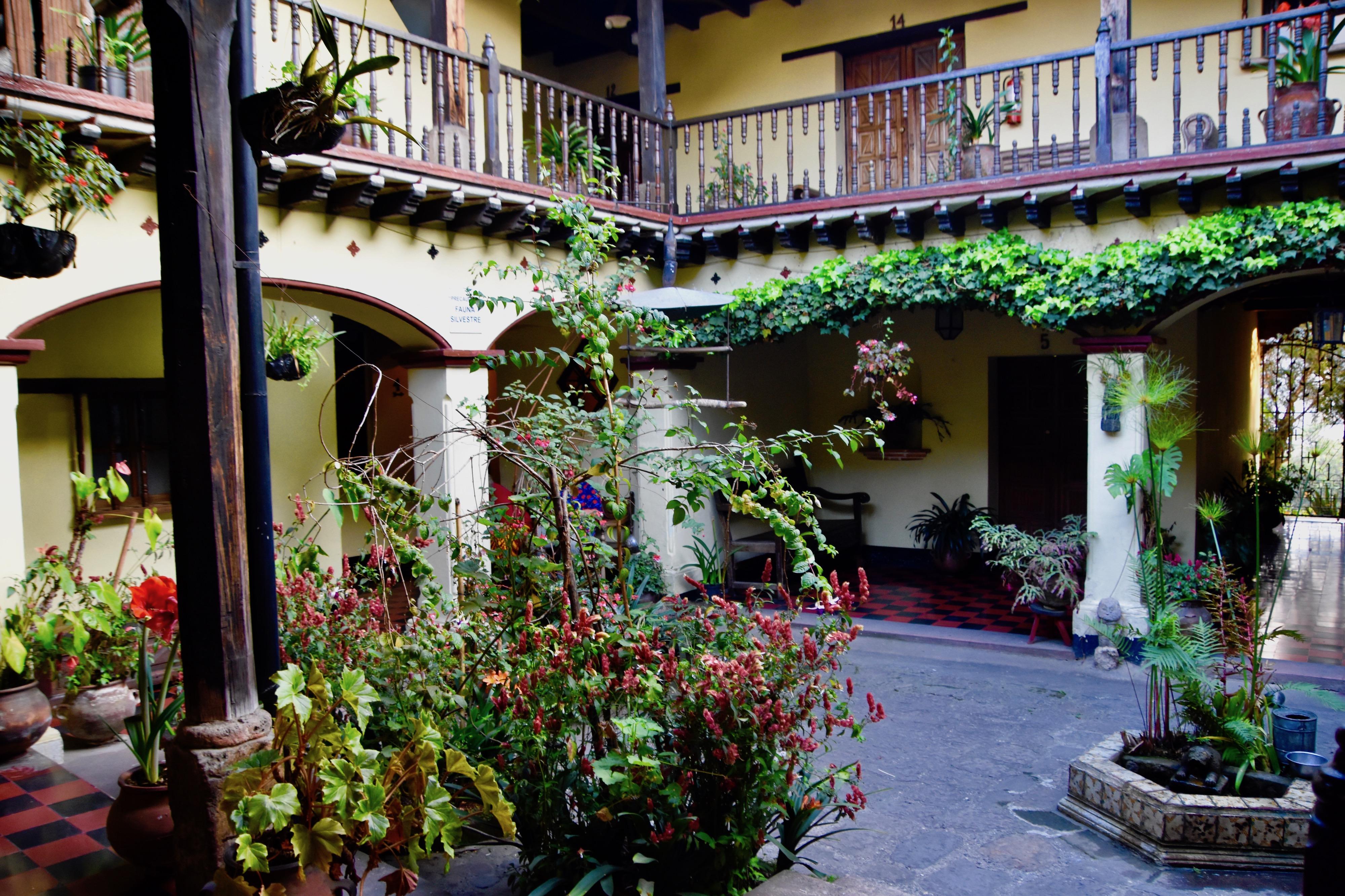 Annex Courtyard, Mayan Inn, Chichicastenango