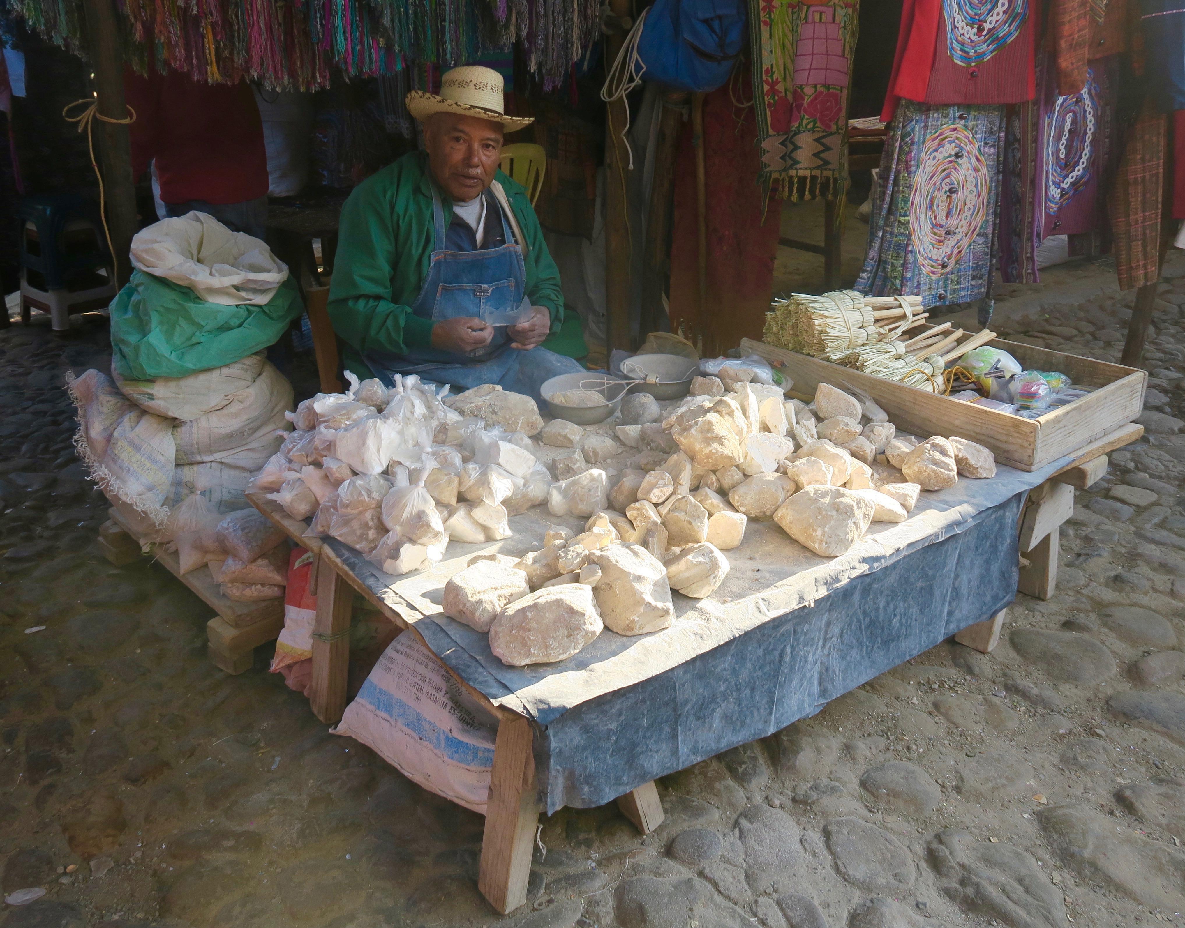 Limestone Seller, Chichicastenango