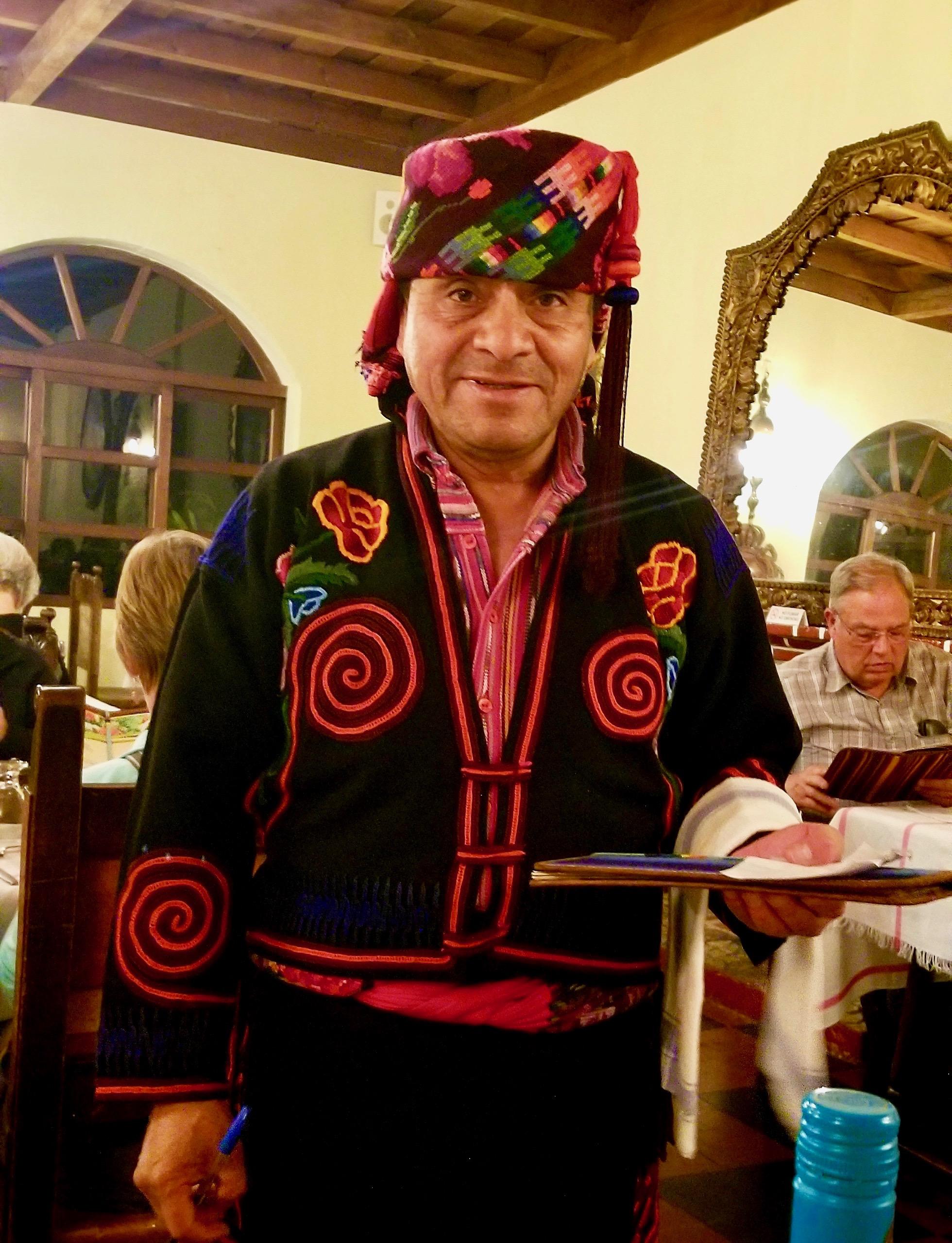 Mayan Waiter, Chichicastenango
