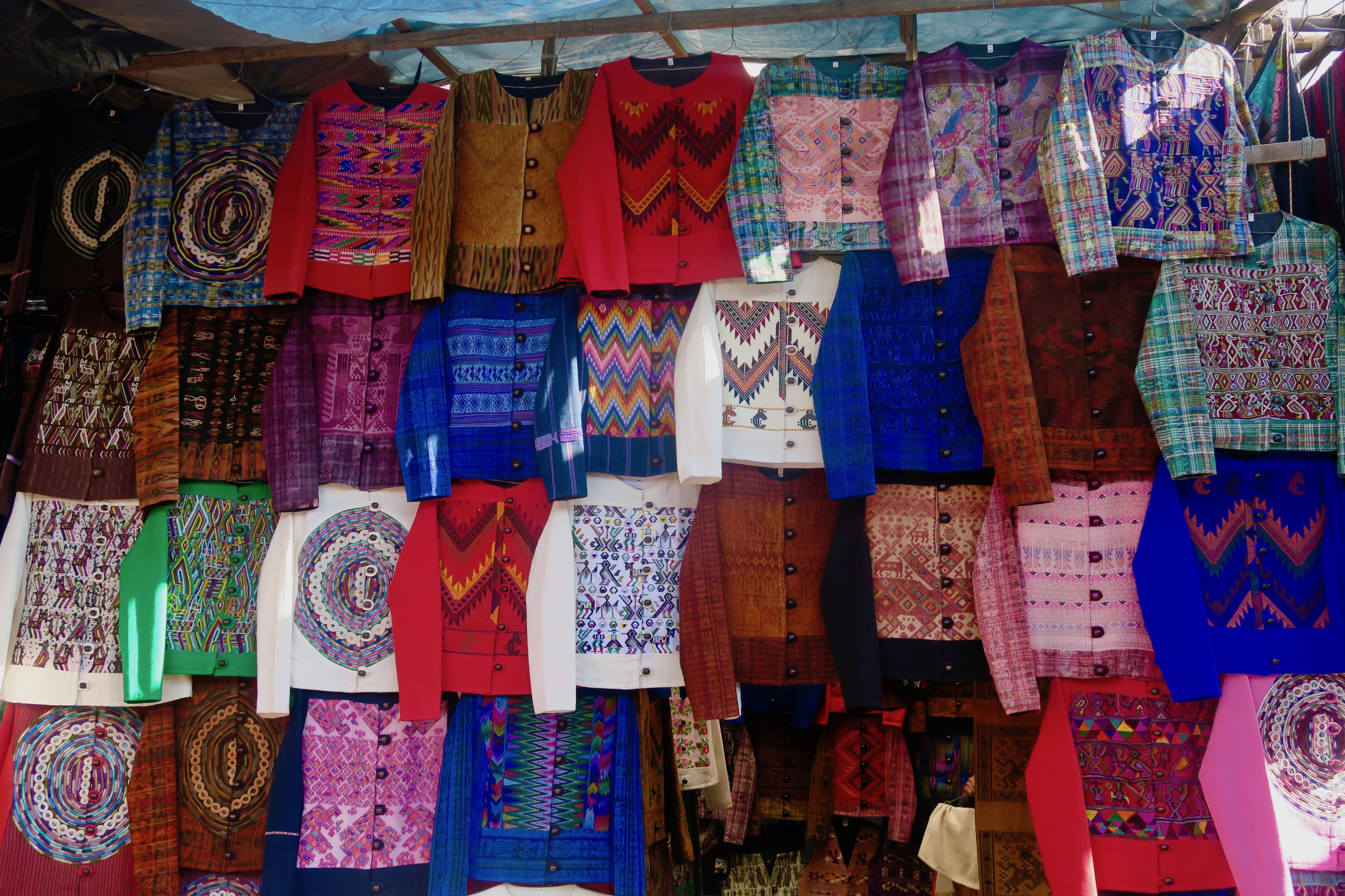Market Shirts, Chichicastenango