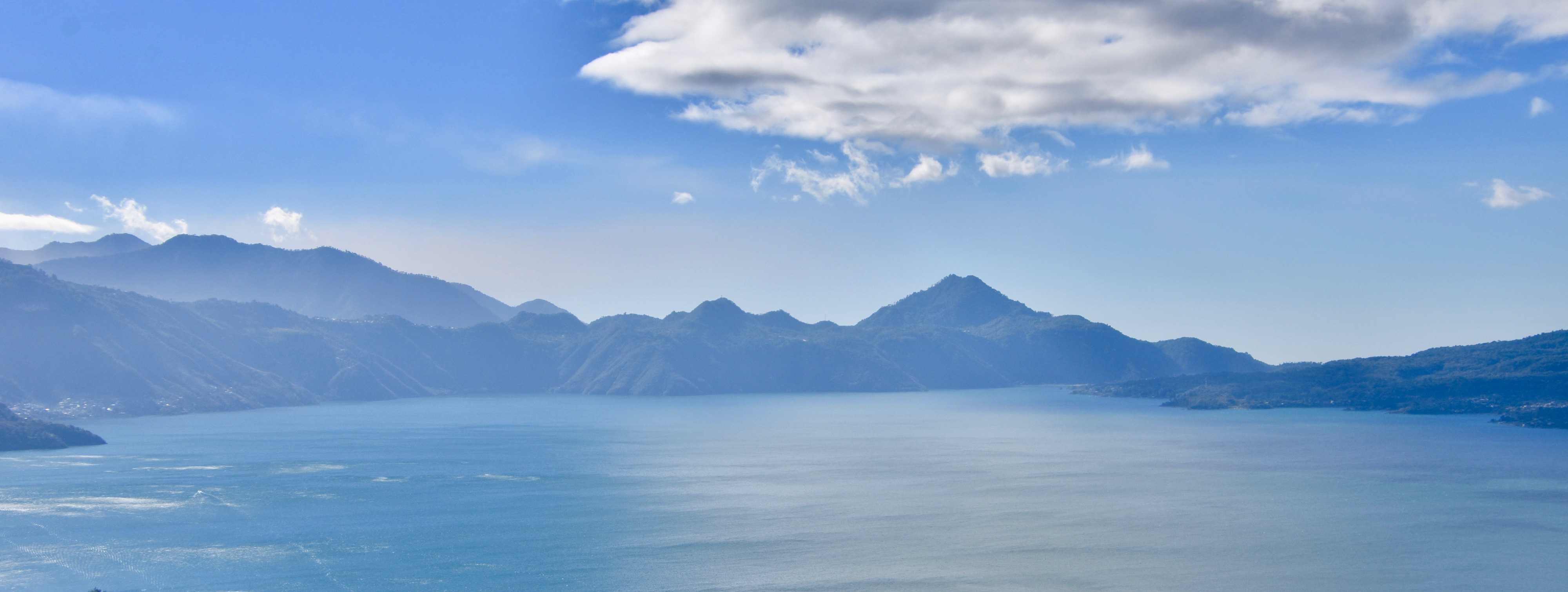 View of Lake Atitlan to the South
