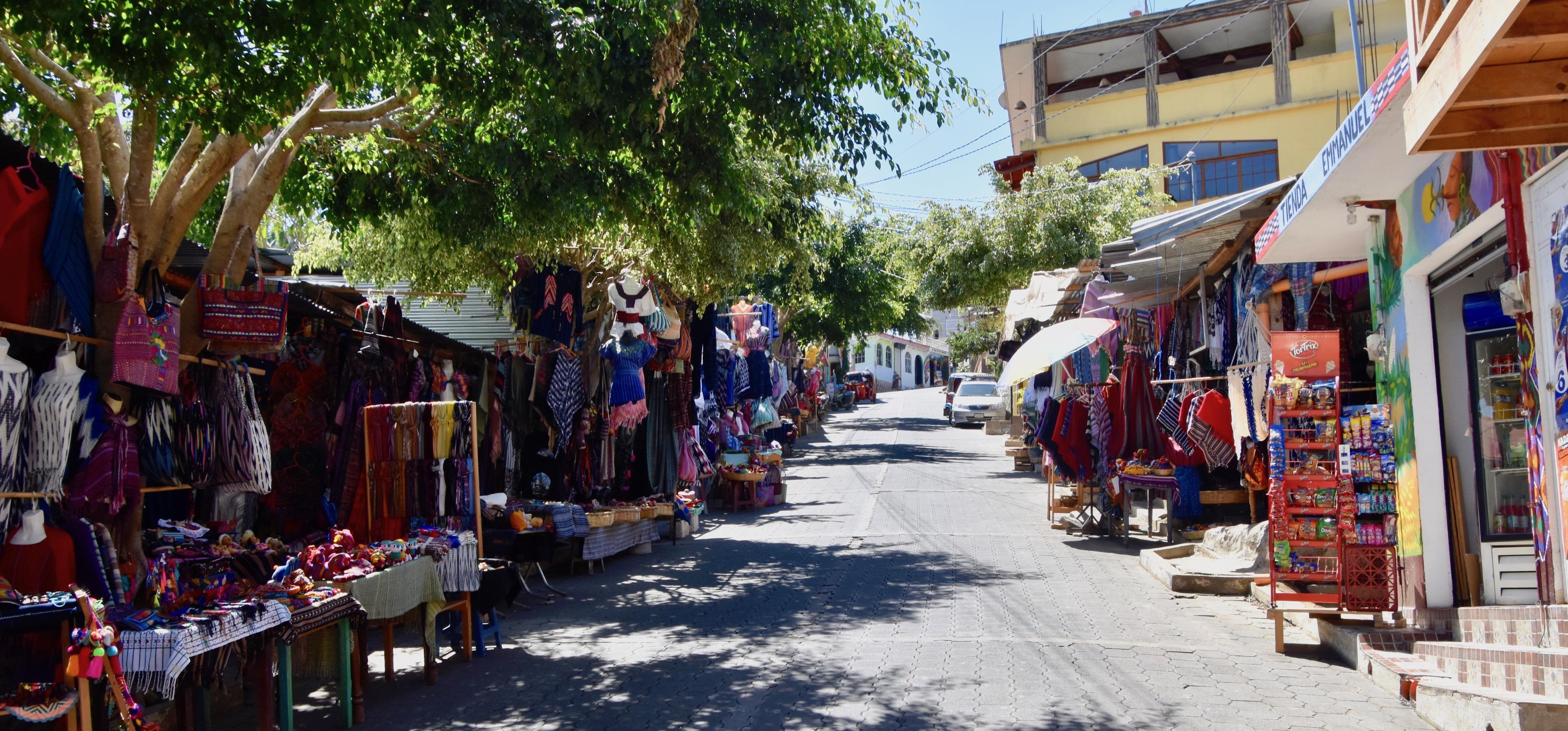 Main Street, San Juan La Laguna, Lake Atitlan