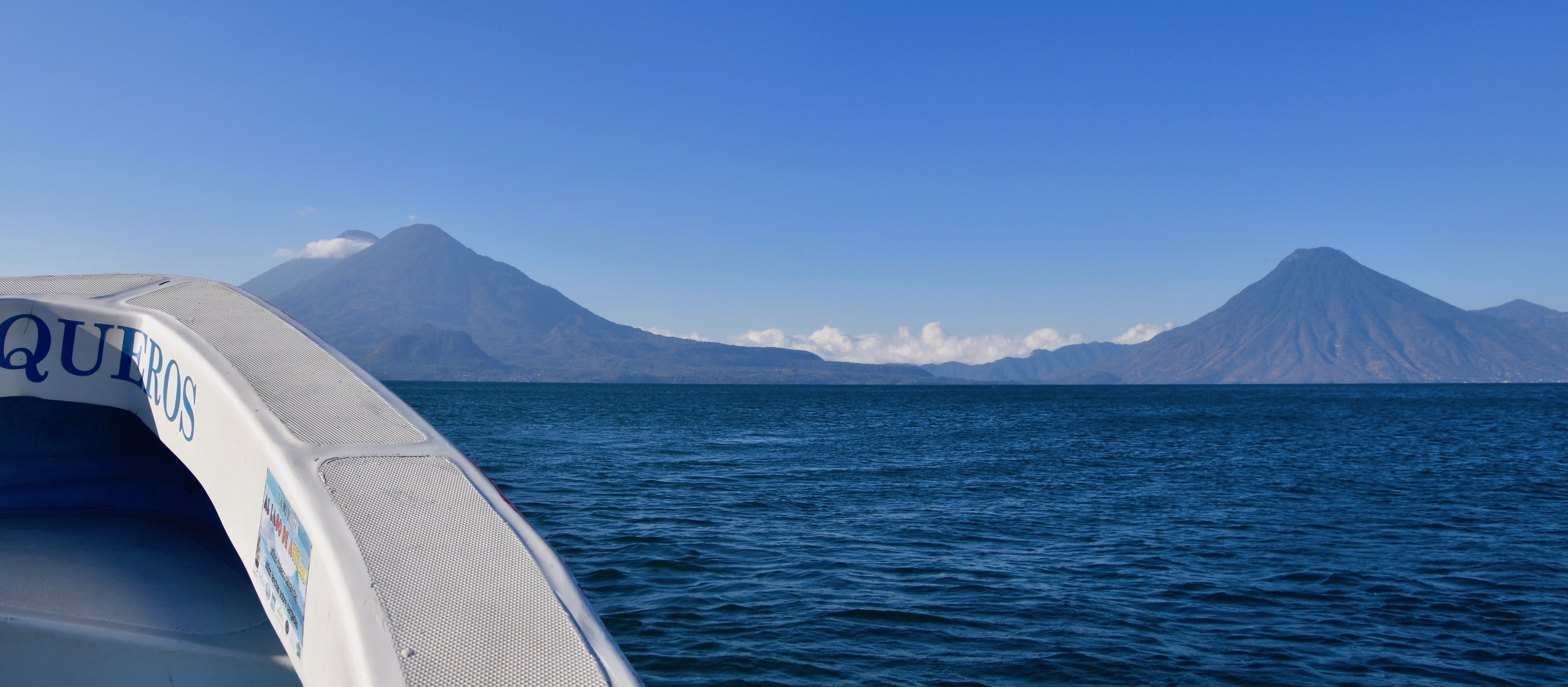 Three Volcanoes of Lake Atitlan
