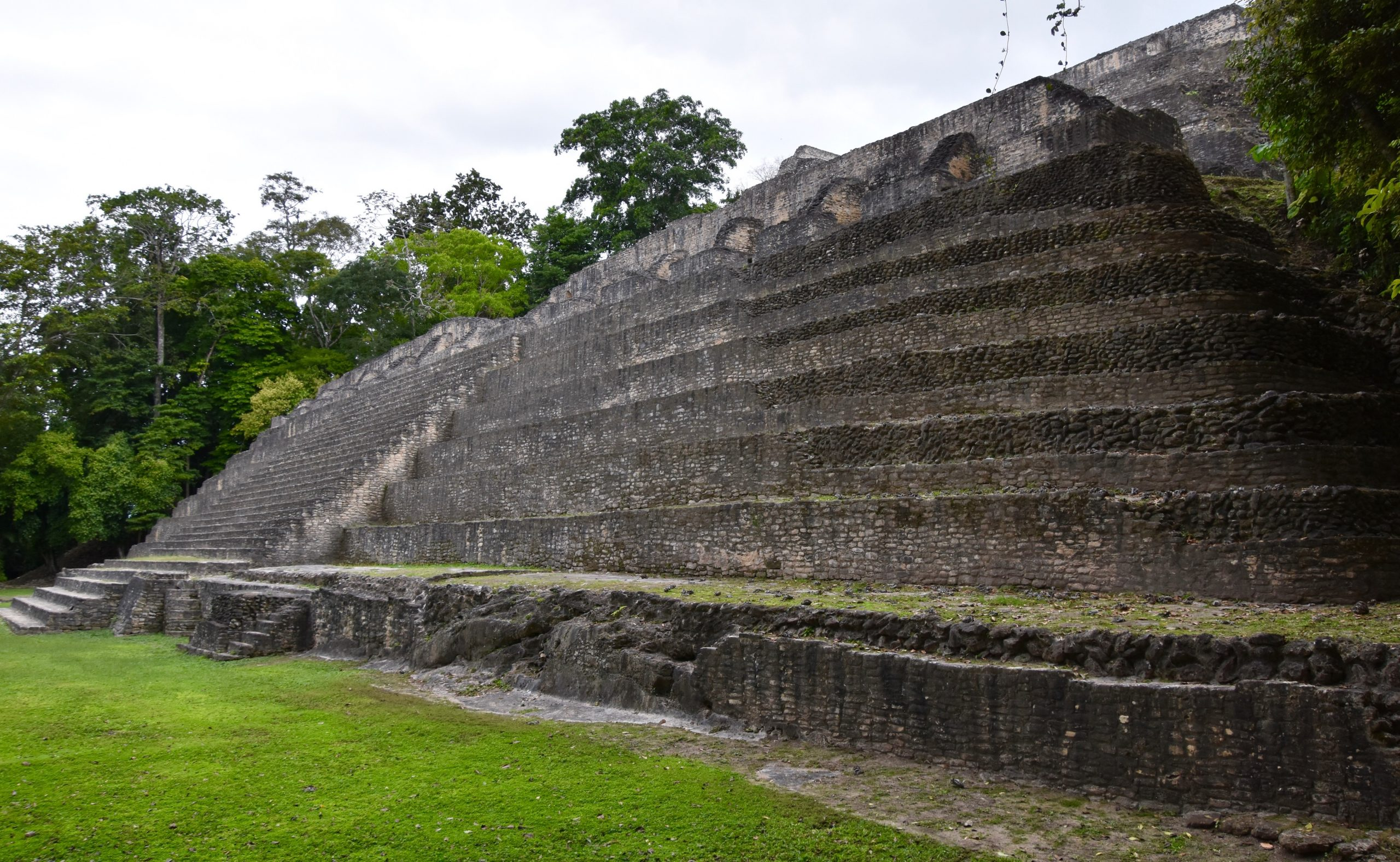 Base of Sky Palace, Caracol