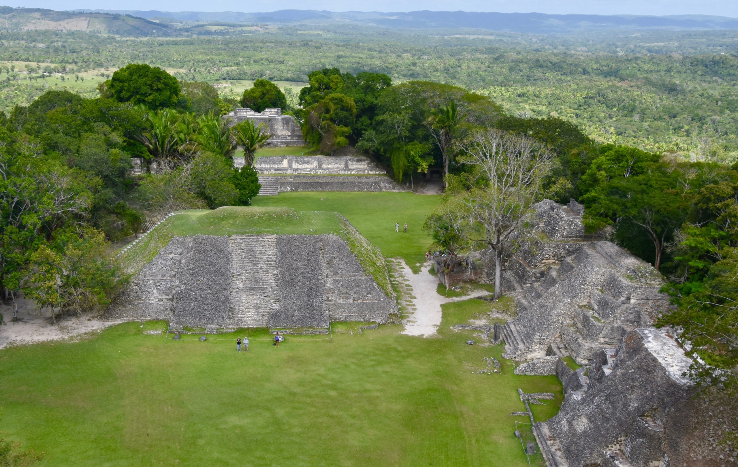 View from El Castillo, Belize