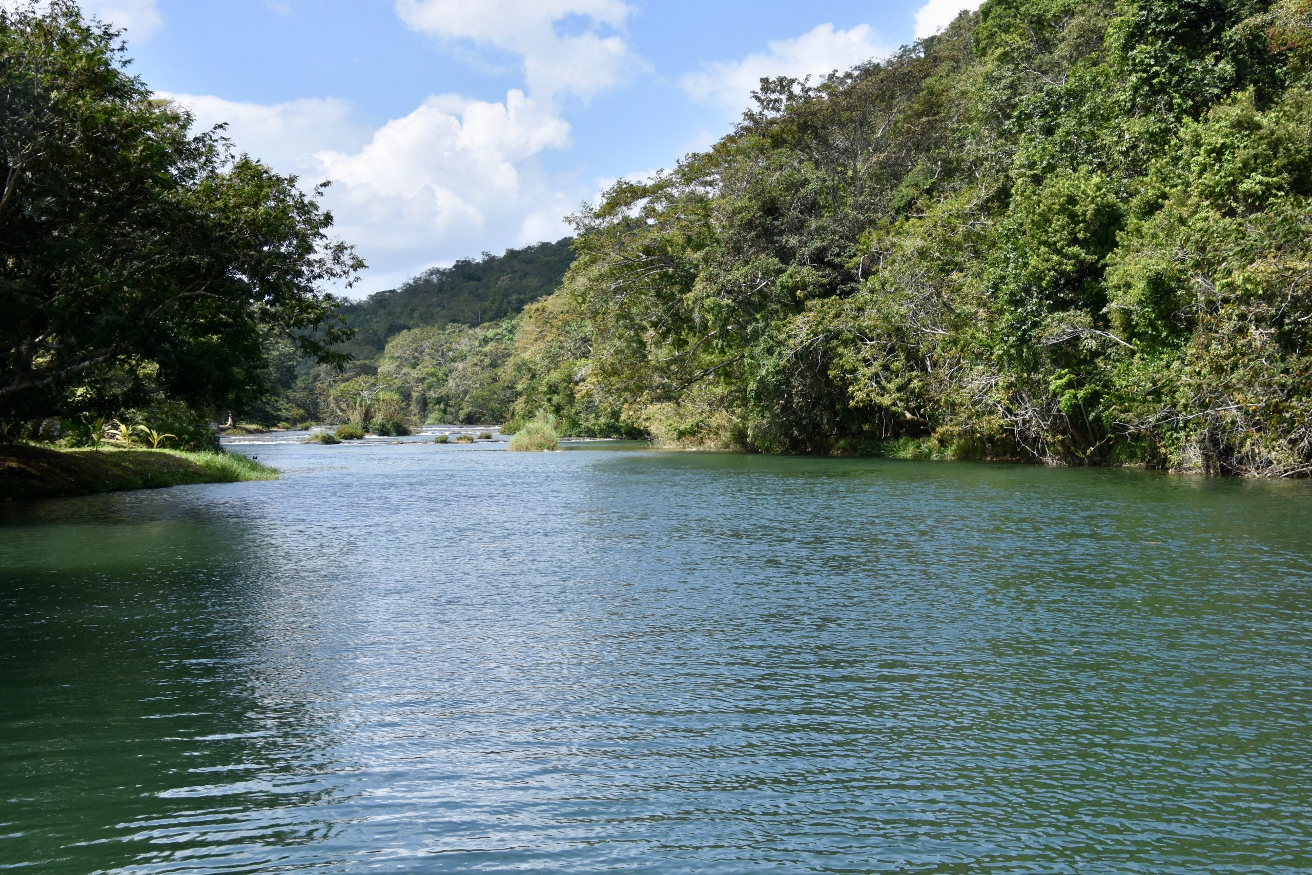 The Mopan River, Belize