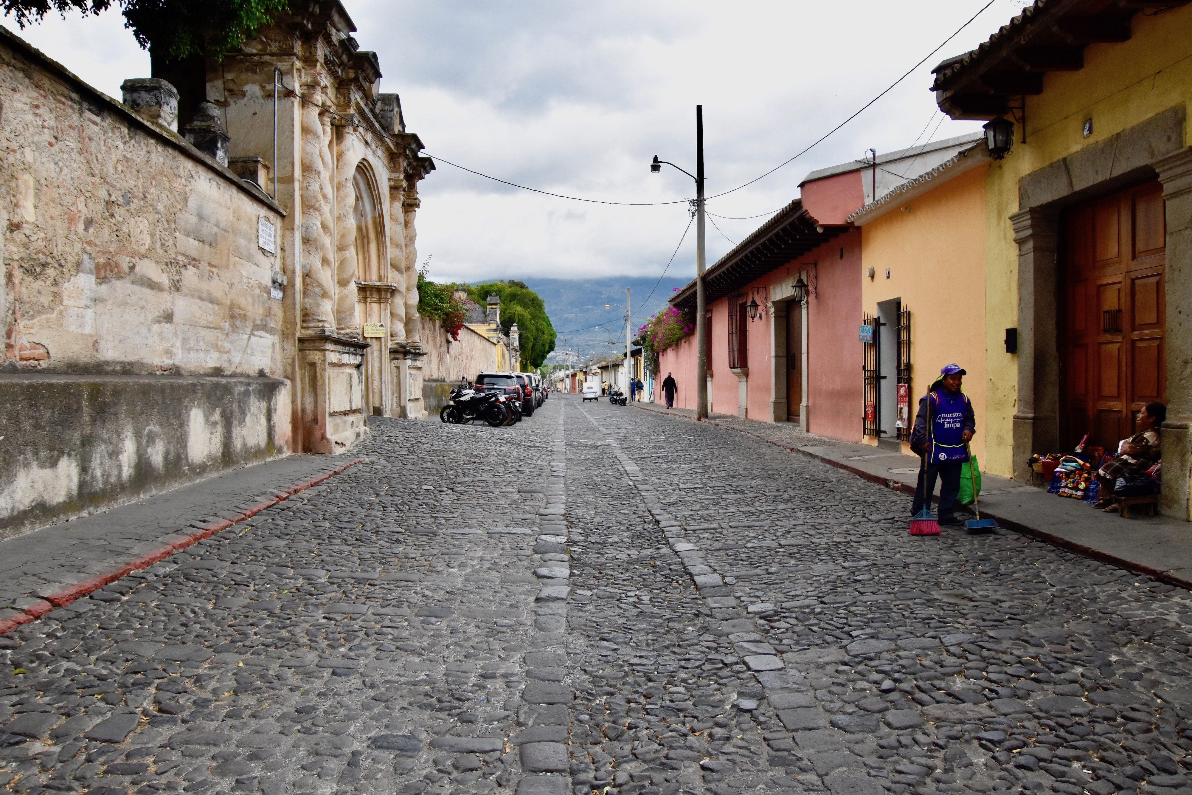 Calle de Los Pasos Cobblestones