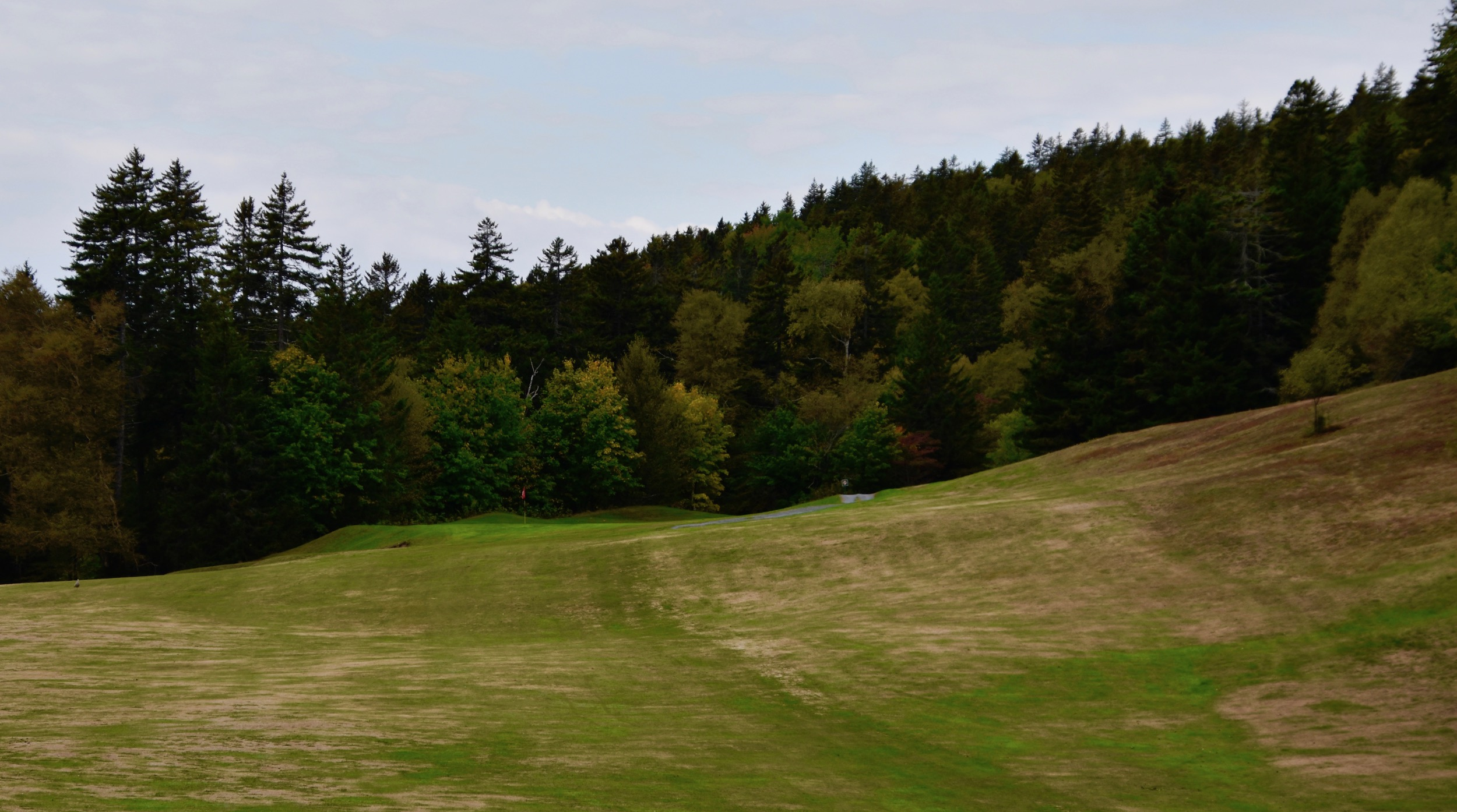 Approach to # 5, Fundy Golf Course