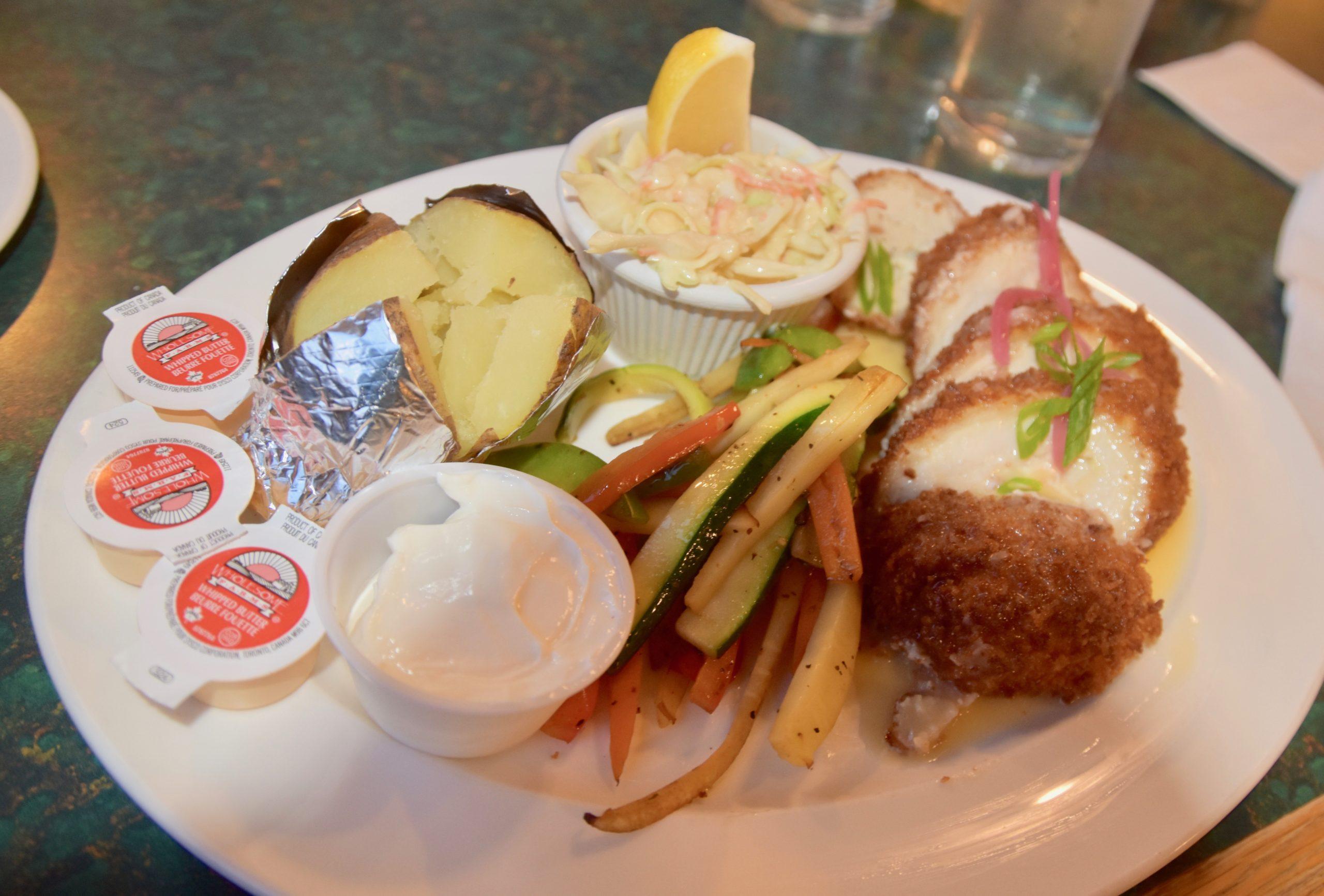 Lobster Chicken Cordon Bleu, The Tides Restaurant